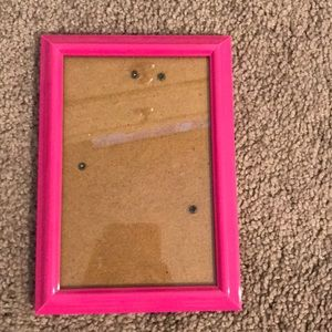 4 by 7 Pink Picture Frame